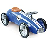Vilac 81 x 38 x 39,5 cm de Ride-On carreras de coches (azul)