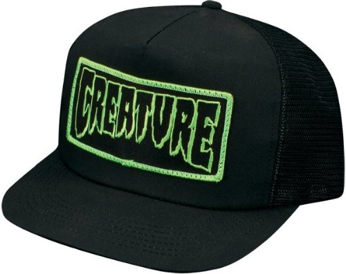 Creature Patch Trucker Hat Adjustable [Black]