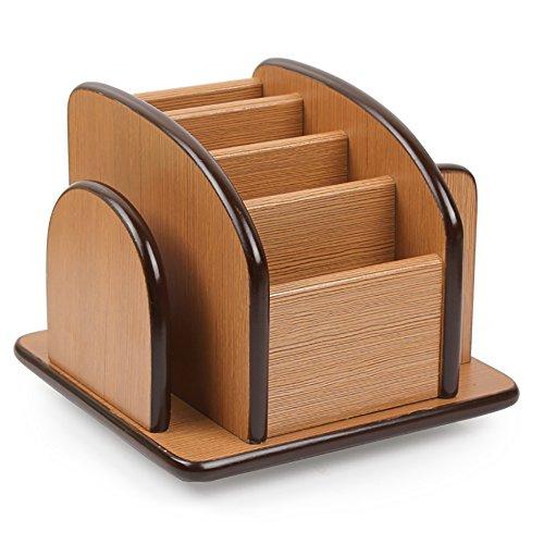Nianxinan portapenne moda in legno forniture per ufficio cancelleria finitura ornamenti regalo studio multifunzionale scatola di immagazzinaggio desktop