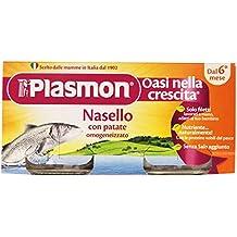 Plasmon Omogeneizzato di Pesce di Nasello e Patate - 160 (Italiano Patate)
