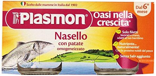 Plasmon Omogeneizzato di Pesce di Nasello e Patate 160 gr