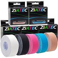 Ziatec Kinesiologie Tape 1 Rolle - viele Farben verfügbar preisvergleich bei billige-tabletten.eu