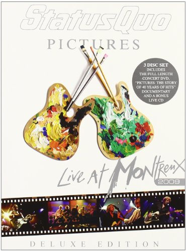 Status Quo - Pictures - live at Montreux 2009 (2 DVD+CD special edition)