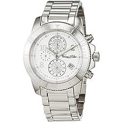 "Thomas Sabo Watches, Damenuhr ""GLAM CHRONO"", Edelstahl, WA0190-201-202"