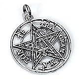 Tarot Carmen Colgante Tetragramaton en Plata de Ley- Tamaño 1,5 cm de diámetro- Joya...