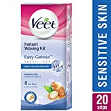 #4: Veet Full Body Waxing Kit with Easy-Gelwax Technology for Sensitive Skin - 20 Strips
