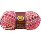 Lion Brand Wool Blend Sock-Ease Yarn-Cotton Candy