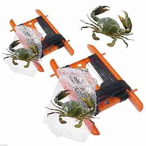 Childrens Sea Beach Crabbing 11 Metre Crab Line With Bait Bag Safety Net Rod By RSGLAM