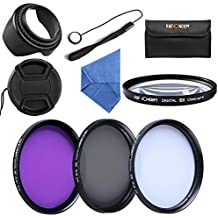 K&F Concept 58mm UV CPL FLD Close-up + 4 Filtro Kit de Accessorios de Lente UV Protector polarizador circular Filtro para Canon 600D EOS M M2 700D 100D 1100D 1200D 650D DSLR Cámaras
