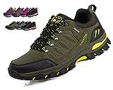 Wanderschuhe Herren Damen Trekking Schuhe Anti-Rutsch Wanderstiefel Turnschuhe Leichte Atmungsaktiv Outdoor Sneaker Walkingschuhe