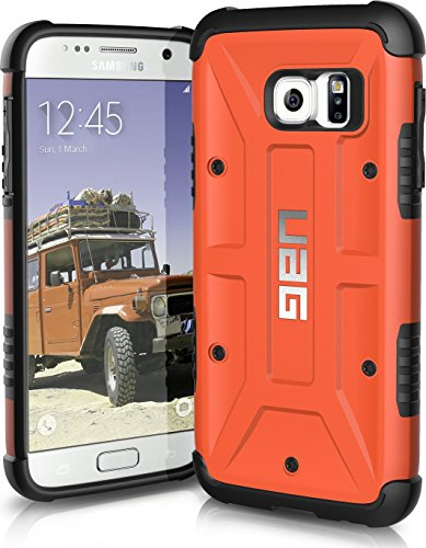 UAG Samsung Galaxy S7 [5.1-inch screen] Feather-Light Composite [RUST] Military Drop Tested Phone Case  available at amazon for Rs.1990