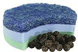 Steinbach Filteranlagenzubehör, Teicheinsatz für Speed Clean Comfort 50, Eco 30, 3 Filtereinsätze, Bio balls, 040585