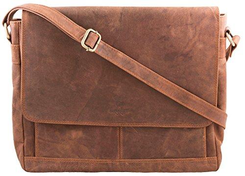 80c171c745223 MATADOR Ledertasche Laptop-Tasche Unitasche Aktentasche Businesstasche für  Macbook  Surface   bis.