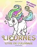 licornes livre de coloriage pour enfants et adultes coloriage magique