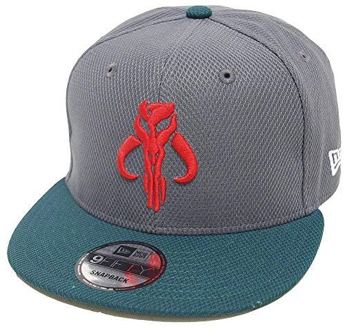 New Era Diamond Star Wars Boba Fett Dark Grey Green Snapback Cap 9fifty 950 OSFA Basecap Limited Edition