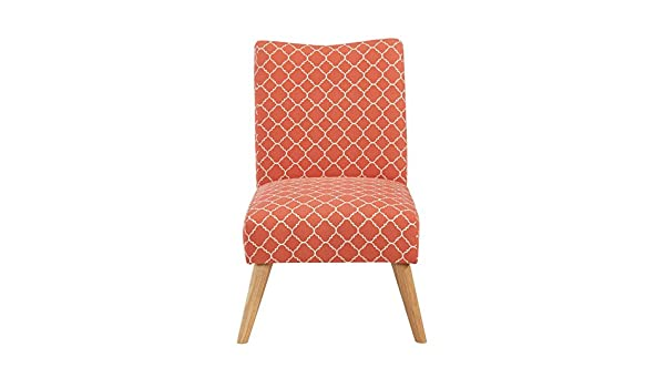 Swell Urban Home Furniture Chair Fabric Soft Coral Lattice Evergreenethics Interior Chair Design Evergreenethicsorg