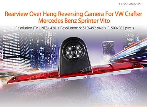 XTRONS-Rckfahrkamera-waserdicht-Einparkshilfe-170Weitwinkel-Rckansicht-ber-Hang-fr-VW-Crafter-Mercedes-Benz-Sprinter