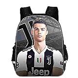 SJYMKYC CR7 Borse Per La Scuola Stella Del Calcio Zaino Ronaldo Juventus Soccer Club Zaino In Poliestere Borse Zaino Per Studenti/Bambini