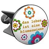 Plopp Waschbeckenstöpsel Das Leben ist eine Blumenwiese, Stöpsel, Excenter Stopfen, für Waschbecken, Waschtisch, Abfluss