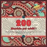 200 Mandala per adulti  Un libro da colorare Zen - Disegni disegnati a mano - Buono per tutte le età - Disegni da colorare rilassanti - Libri da colorare di dimensioni più per il relax