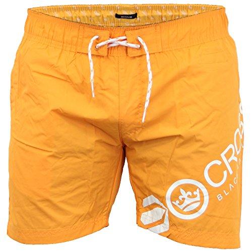 Herren Netzfutter Surfen Schwimmen Shorts Von Crosshatch orange - MAKINs