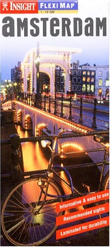 Amsterdam Insight Flexi Map (Insight Flexi Maps) por American Map Corporation