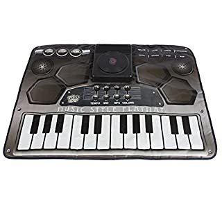 Alisable Electronic Kids Music DJ Style Playmat with Microphone (DJ Style)
