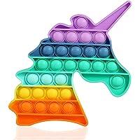 N\A ❤️ ❤️ ❤️ Foykay Fidget Toys, Licorne Push Pop Bubble Fidget Sensorielle Anti Stress pour Les Enfants/Adultes, Jouet…