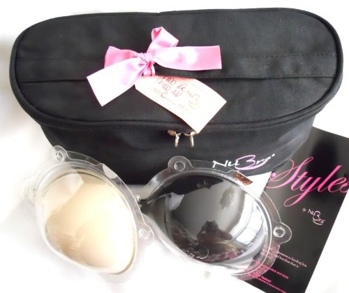 NuBra TPC Feather-Lite Travel Pack - 2 Nubra Feather-Lites (1 Nude & 1 Black) in a FREE Toiletry Bag - 51NHNdgmdBL - NuBra TPC Feather-Lite Travel Pack – 2 Nubra Feather-Lites (1 Nude & 1 Black) in a FREE Toiletry Bag