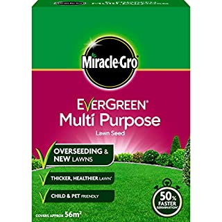 Miracle-Gro EverGreen Multi Purpose Lawn Seed 1.6 kg (B000TAVYHY) | Amazon price tracker / tracking, Amazon price history charts, Amazon price watches, Amazon price drop alerts