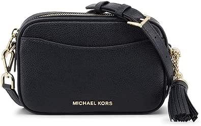 Michael Kors MICHAEL by Leder Umhängetasche, schwarze