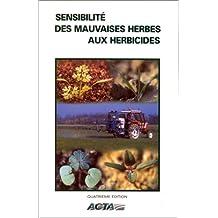 Sensibilité des mauvaises herbes aux herbicides