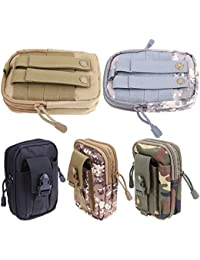 RVS Tactical Molle Pouch Belt Waist Pack Bag Small Pocket Military Pocket Hip