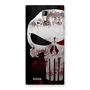 Delighted Bleed Red Skull Back Case Cover for Micromax Canvas Xpress A99