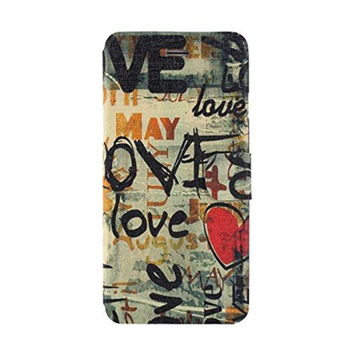 """MOONCASE pour iPhone 6 (4.7"""") Coque en Cuir Housse de Portefeuille Protection Étui à rabat Case Mi13 Mi07 #1130"""