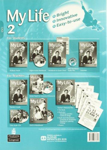 My Life 2 Workbook Pack + Extra Practice (castellano) - 9788498376432