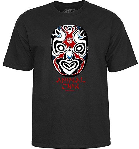 powell-peralta Kinn Maske schwarz Small T-Shirt -