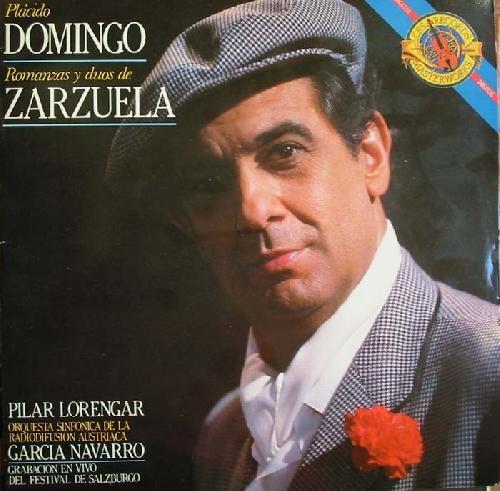 Antiguo vinilo - Old Vinyl .- PLÁCIDO DOMINGO:ROMANZAS Y DÚOS DE ZARZUELA.PILAR LORENGAR.ORQ. DE LA RADIODIFUSIÓN AUSTRIACA.G.NAVARRO.