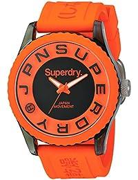 Superdry Analog Orange Dial Men's Watch - SYG145O