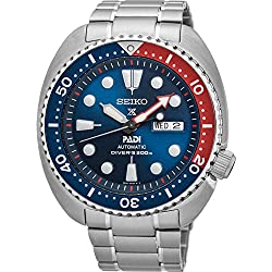 SEIKO TURTLE PROSPEX PADI 200M Divers Gents Automatic Special Edition Watch, St Steel Bracelet, SRPA21J1 - Made in Japan