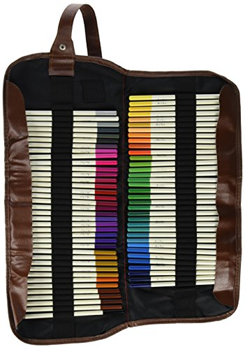 72-piece-coloured-pencils-colouring-set-with-roll-up-organizer-case-by-handi-stitch-vibrant-colours-