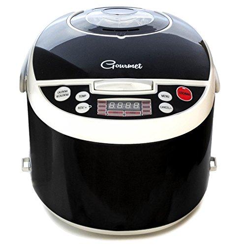 Foto de Robot de cocina con 850W, capacidad de 5 l y14 funciones. Programable 24h, guiado por voz y con recetario y múltiples accesorios. Gourmet 5000 de Ollas GM.