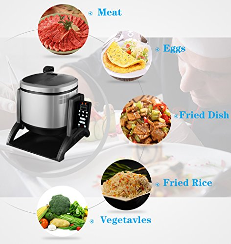 Multifunction Cooker GT5-32 Robot Cooker for Restaruant,6Litre,2500W