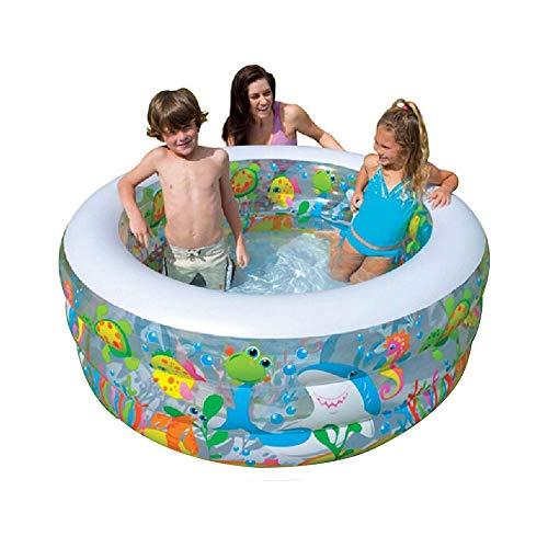 LF-hammock Tragbare aufblasbare Badewanne Kinderbecken Sommer Outdoor und Indoor aufblasbare Badewanne geeignet für Jungen und Mädchen Baby Adult Swimming Pool