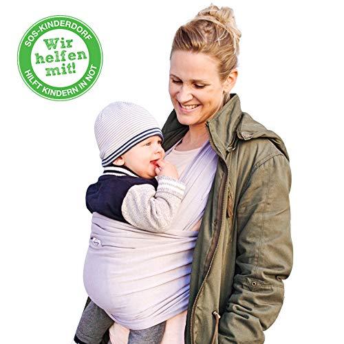 happylovebaby® Tragetuch für Früh- und Neugeborene Kleinkinder