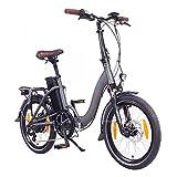 NCM Paris 20' E-Bike, E-Faltrad, 36V 15Ah 540Wh Weiß