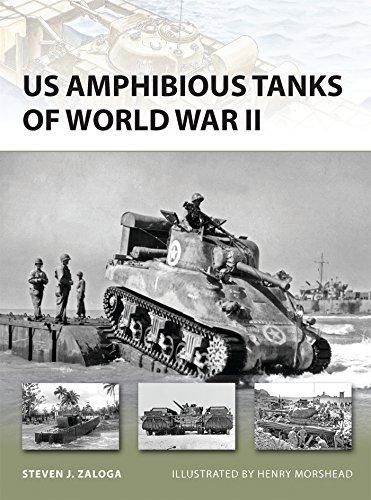 US Amphibious Tanks of World War II (New Vanguard, Band 192) (Cola-tank)