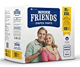 #9: Friends Adult Pullups - Extra Large To Double Extra Large (Xl-Xxl)(10 Count)