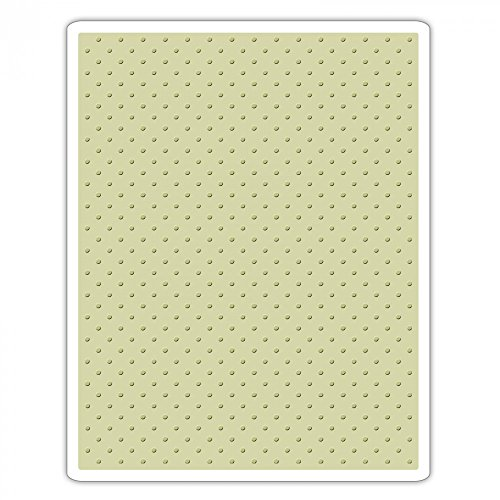 """Sizzix """"Tiny Dots by Tim Holtz"""" TFEF Embossing Folder, Multi-Colour Test"""