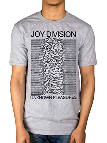 Division T-shirt (AWDIP Offiziell Joy Division Unknown Pleasures T-Shirt)